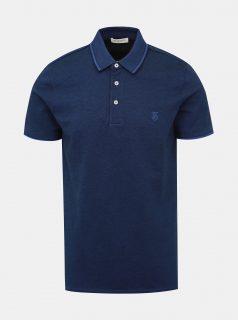 Tmavě modré polo tričko Selected Homme Twist