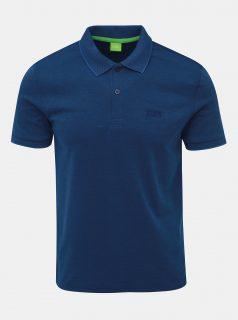 Modré polo tričko Feedback