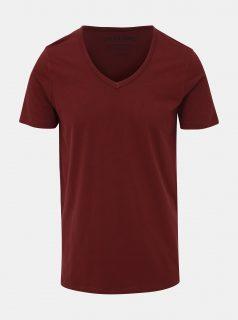Vínové basic tričko Jack & Jones Basic