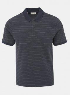 Tmavě modré pruhované polo tričko Selected Homme Aro