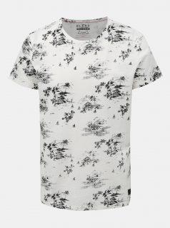 Bílé vzorované tričko Blend