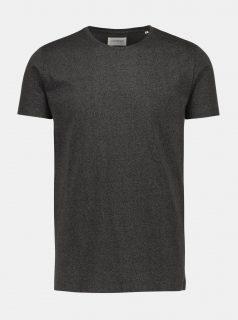 Tmavě šedé basic tričko Lindbergh