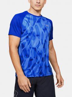 Modré pánské tričko Qualifier Under Armour