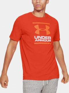 Oranžové pánské tričko Foundation Under Armour