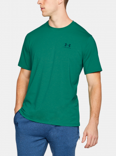 Zelené pánské tričko Lockup Under Armour