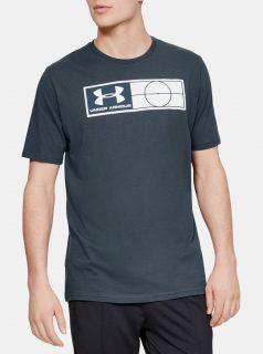 Šedé pánské tričko Fotball Under Armour