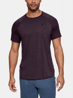 Fialové pánské tričko MK1 Under Armour