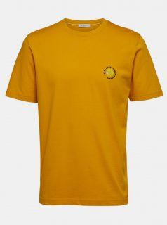Žluté tričko Selected Homme