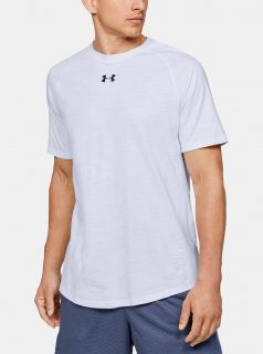 Bílé pánské tričko Charged Under Armour