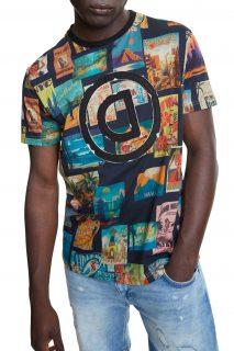 Desigual pánské tričko TS Logan s logem