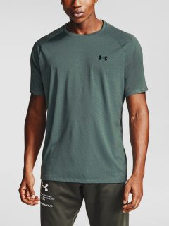 Modré tričko Under Armour UA Tech 2.0 SS Tee Novelty