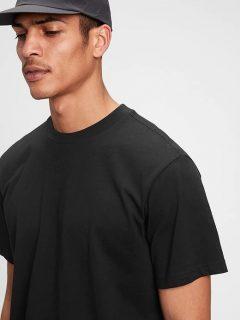 Černé pánské tričko the gen good t-shirt