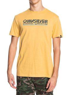 Quiksilver LIKE GOLD RATTAN pánské triko s krátkým rukávem – žlutá