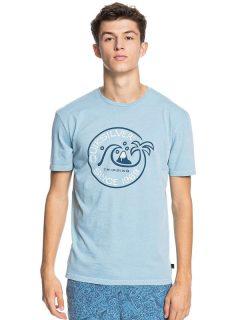Quiksilver INTO THE WIDE BLUE HEAVEN pánské triko s krátkým rukávem – modrá