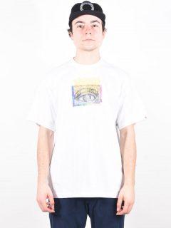 Element SUPERLOCK OPTIC WHITE pánské triko s krátkým rukávem – bílá