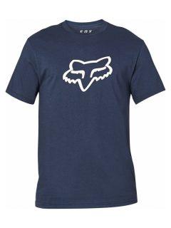 Fox Legacy Fox Head midnight pánské triko s krátkým rukávem – modrá