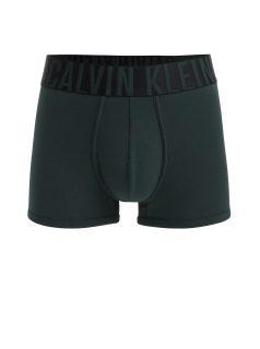 Tmavě zelené boxerky s širokou gumou v pase Calvin Klein