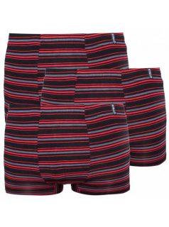 3PACK pánské boxerky Stillo bambusové červené