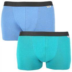 2PACK pánské boxerky Nur Der vícebarevné (827756 – mintg/blau)