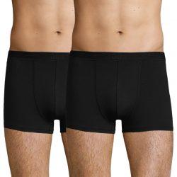 DIM SOFT POWER BOXER 2x – Pánské bavlněné boxerky 2 ks – černá