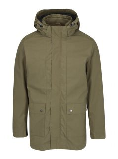 Khaki parka s kapucí Selected Homme Tim