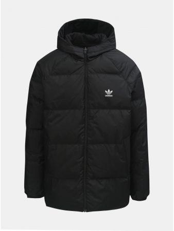 83c92045335 Černá pánská oboustranná zimní bunda adidas Originals - Pánské bundy