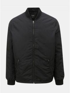 Černý zimní bomber Burton Menswear London