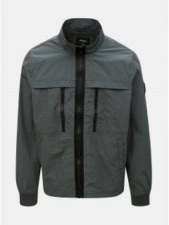Šedá lehká bunda Burton Menswear London