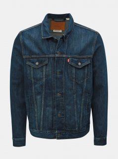 Tmavě modrá pánská džínová bunda Levi's® Trucker