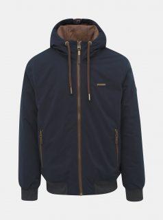 Tmavě modrá pánská funkční zimní bunda Ragwear Percy