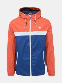 Modro-oranžová bunda Jack & Jones Cott