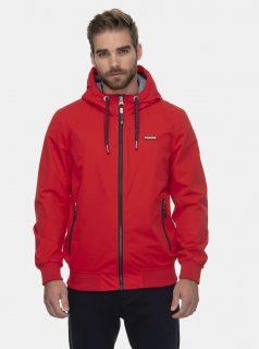 Červená pánská funkční bunda Ragwear Percy