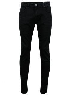 Černé slim fit džíny Selected Homme Slim-leon