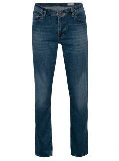 Modré pánské straight fit džíny Cross Jeans Antonio