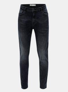 Modré stretch džíny Burton Menswear London