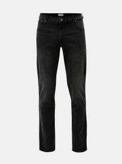 Černé džíny s vyšisovaným efektem Wrangler Greensboro
