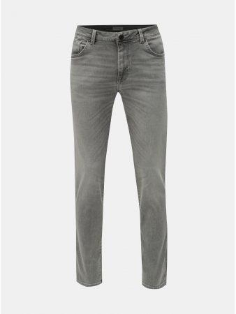 055dadd6000 Světle šedé slim džíny Selected Homme Leon - Pánské džíny