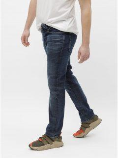 Tmavě modré slim džíny Selected Homme Leon