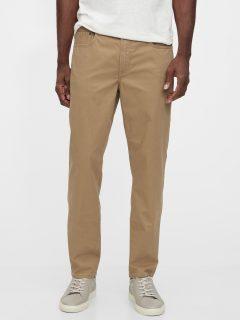 Hnědé pánské džíny GAP Slim