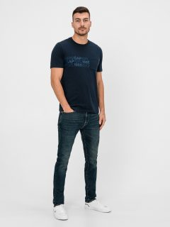 Modré pánské džíny GAP Slim