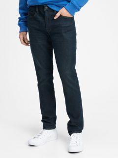 Modré pánské džíny v-slim taper all temp munich