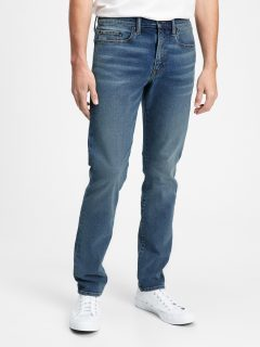 Modré pánské džíny v-slim taper all temp quebec