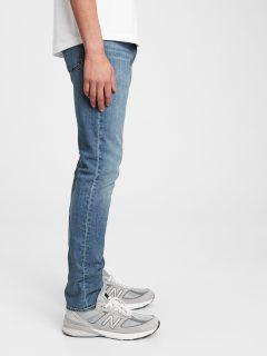 Modré pánské džíny GAP skinny lightwe