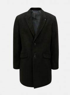 Černý pánský kabát Burton Menswear London