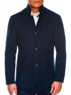 Pánský jarní kabát C427 – námořnický
