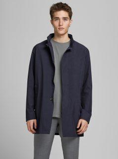 Tmavě modrý lehký kabát Jack & Jones Gran