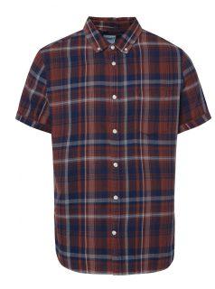 Khaki slim fit košile s maskáčovým vzorem Blend - Pánské košile 0ab46f69b9