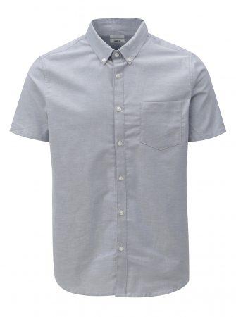 Světle modrá skinny fit košile Burton Menswear London - Pánské košile 3b0aa5cf3a