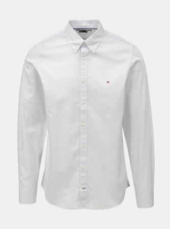 f03b20e47ed Světle šedá pánská slim fit košile Tommy Hilfiger Diamond - Pánské ...