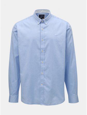 Světle modrá košile s dlouhým rukávem Raging Bull - Pánské košile a16a88ee57